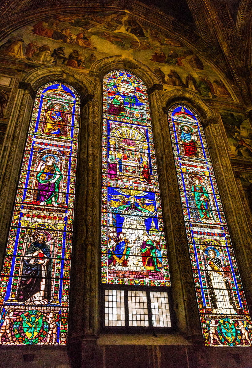 Florence SMN  Main Altar Window