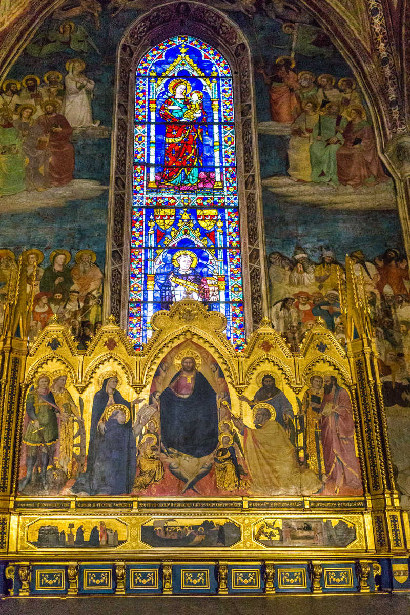 Florence SMN Altarpiece and Window