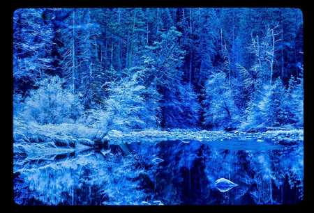 BLUE MERCED YOSEMITE