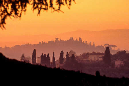 SAN MINEATO SUNSET, FLORENCE