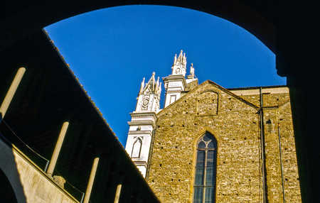 SANTA CROCE FROM THE CLOISTER